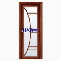 Best Wide View Aluminum Clad Exterior Doors With Integral Matched Mosquito Screen wholesale