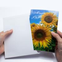 Best Holiday Celebration Thank You 3D Lenticular Greeting Card CMYK Printing wholesale