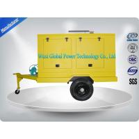 Best Portable Diesel Trailer Mounted Generator With Water Cooled Cooling System wholesale