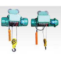 Hoist Speed Electric Wire Rope Hoist , 10 Ton Electric Cable Hoist Winch