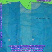 China Nonwoven Isolation Gown on sale