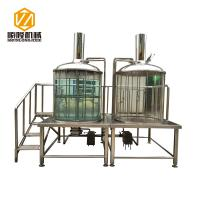 China Pub Micro Beer Brewing Equipment , Indoor / Outdoor 500L Micro Brewing Systems on sale