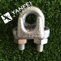 China A Type Malleable Wire Rope Clip on sale