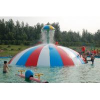 Best Family Play Fun Outdoor Commercial Fiberglass Water Slides For Holiday Resort, Hotels wholesale