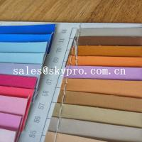 Best Fashion design pvc synthetic leather pu coated leather with backing fabric wholesale