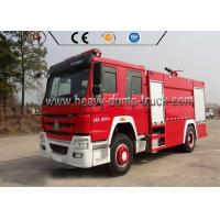 Best Euro 4 Sinotruk 4X2 Firefighter Truck / Fire Fighting Vehicle For Rescue Service wholesale
