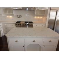 China Countertops - Bianco Carrara Marble Countertops For Kitchen Design on sale
