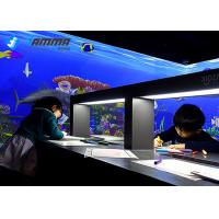 Best Magic Sea Interactive Projector Games Painting With Infrared Sensing Radar wholesale