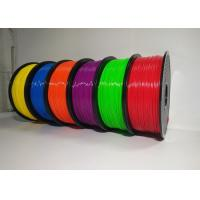 Best 1.75mm 1KG ABS 3D Printer Filament Spool Master Filament With Good Elasticity wholesale