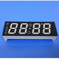 China 635nm 10mm 100mcd led 7 segment display For Digital Oven Timer on sale