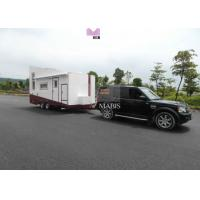 Best High Space Utilization Prefab Mobile Homes , Light Steel Mobile Prefabricated Houses wholesale