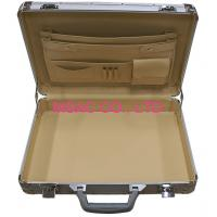 Best Silver Custom Aluminum Laptop Carrying Case For Women With Metal Lock wholesale