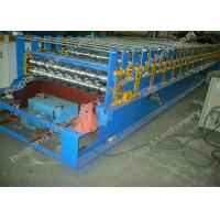 Best Steel Roof Panel Double Layer Roll Forming Machine With Cr12 Cutting Blade wholesale