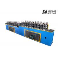 Best Blue Roller Shutter Door Roll Forming Machine Continuous PU Sandwich Panel Production Line wholesale