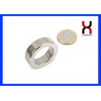 Best Neodymium N52 Ring Shaped Magnet Customized Diameter And Thickness wholesale