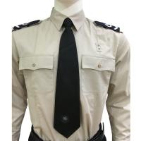 Best Long Sleeve Custom Security Shirts For Men , 65% Polyester 35% Cotton Materials wholesale