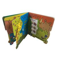 Best Full Color Glossy Cardboard Custom Board Book Printing For Children Learning wholesale