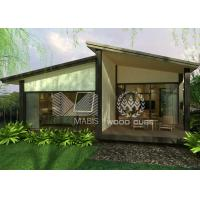Best Slopping Roof Prefabricated Modular Homes Modern Appearance Optional Colors wholesale