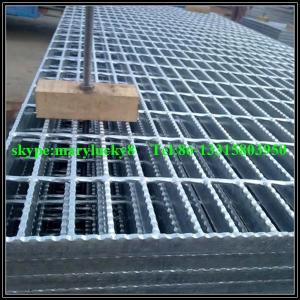 Galvanized steel Bar Grating/galvanized serrated grating