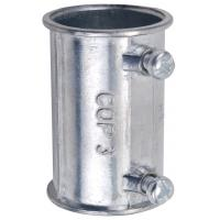 Cheap Zinc Die Casting Electrical Conduit Fittings 4 Inch EMT Coupling Set Screw Type for sale