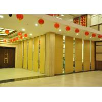 Best Steel Movable Partition Office Hanging Sliding Door  For International Convention Centers wholesale