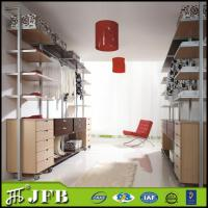 Best china online shopping modular home furniture metal frame aluminumn pole closets wholesale