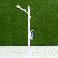 Best RC100  6V Billboard Street Plastic Miniature Scale Model Lamppost for Train Layout 10cm wholesale