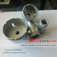 Vacuum brazed diamond core drill bits,Vacuum brazed diamond tools