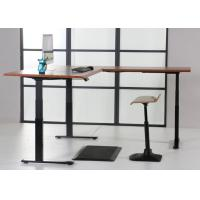 Best Convertible Automatic Electric Sit Stand Desk For Office / Home wholesale