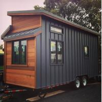 Best Mobile Prefab Light Steel Tiny House With Wheels In AU/EU/US Standard wholesale