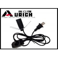 China Electrical Ul Approved Salt Lamp Power Cord With Dimmer Switch E12 Lamp Holder on sale