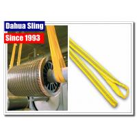 China 100% Polyester Endless Webbing Sling Flat Endless Belt For Construction Industry on sale