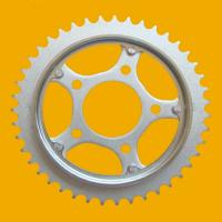 China High Quality Sprocket,Motorcycle Sprocket for Xr200-43t Motorcycle Chain Sprocket on sale