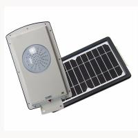 China 8w All In One Solar Street Courtyard Light 2835 Pure White 5700-6500 MCD on sale