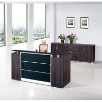Buy cheap Purple Oak Reception Counter Desk In Office Furniture Size 2200Wx800Dx1000H(Mm) from wholesalers