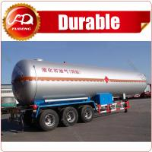 Best Factory Make 2 axles LPG trailer ASME standard 40 CBM LPG tank trailer low price used LPG tank trailer wholesale