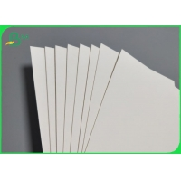 China Uncoated White Water Absorbent Paper For Coaster Or Air Freshner 0.4mm 1.1mm Thick on sale