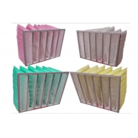 Best 80% Humidity Synthetic Fiber Media F6 Pocket Air Filter wholesale