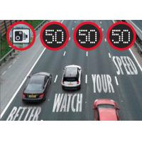 Buy cheap Data Logger Residential Variable Speed Limit Signs Environment Friendly For Easy Maintenance from wholesalers
