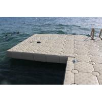 Best High Durability Plastic Floating Dock Cubes , HDPE Floating Pontoon Bridge wholesale