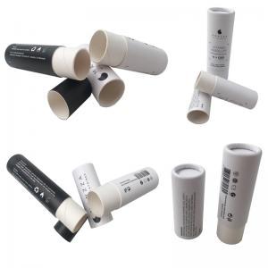 Best Full Color Cosmetic Tube Packaging / Printed Paperboard Deodorant Tubes wholesale
