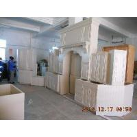 China Solid Wood Cupboard, Maple Wooden Kitchen Cabinets on sale