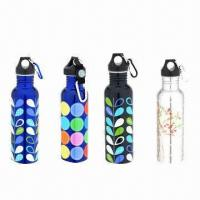Best 1200ml Water Bottles with Polished Surface and Silkscreen Printing wholesale