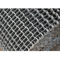 Best Honeycomb Wire Mesh Conveyor Belt , Metal Mesh Belt With Clinched Edge wholesale