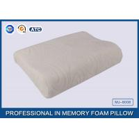 Best Comfort Waved shapded Memory Foam Contoured Pillow , Classic Memory Foam Pillow wholesale