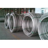 China Steel Low Carbon Wire Rod , Hot Rolled Steel Drawing Wire 6.5 MM 8 MM 10 MM 12 MM on sale
