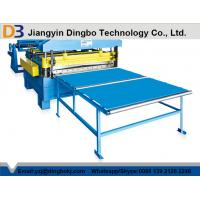 Best Hydraulic Post Cutting Simple Cut To Length Line , Steel Slitting Machine wholesale