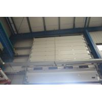 High Density Sectional Overhead Door Fully Automatic Operation Fire Prevention