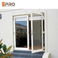 Best Interior Aluminium Hinged Doors With Double Low E Glass For Residential House price door glass hinge aluminum hings glas wholesale