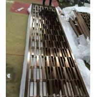 201 stainless steel pipe welded wall panels Foshan factory wholesale price screen divider